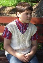 Rowan's Church Vest Pattern