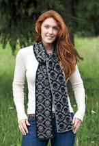 Neck Bones Scarf Pattern