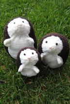 Hedgehog Family Pattern