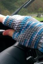 Half-finger Crochet Gloves Pattern