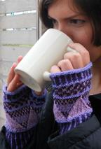 Lily Fingerless Mitts Pattern