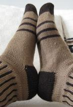 Stripes and Spaces Socks Pattern