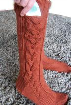 Subway Boot Socks Pattern
