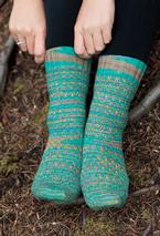 By the Sea Socks Pattern