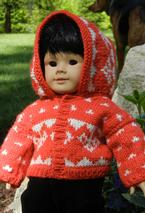 Hooded Doll Sweater Pattern