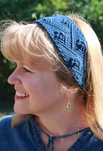 Nancy's Garden Headband Pattern