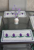 Hyacinth Place Mat Pattern