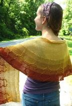 Unplugged Shawl Pattern