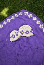 Daisy Chain Blanket and Pretty Posies Hat Pattern