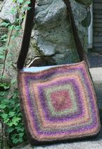 Color, Squared Felted Tote Pattern