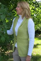 Shawl Collar Embrace Vest Pattern