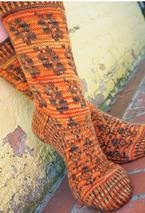 Hidden Valley Socks Pattern