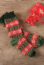 Deck the Halls: The Socks Pattern