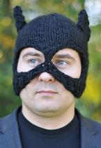 Bat Hat and Mask Pattern
