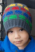 All Ages Alien Invasion Crochet Beanie Pattern