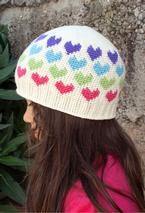 All Ages Hearts Abound Crochet Beanie Pattern