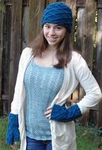 Interlochen Hat & Mitts Set Pattern