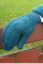Spruce mittens / fingerless gloves Pattern
