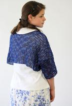 Crochet Starlight Shoulderette or Shrug Pattern