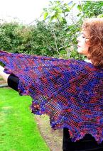 Evil Stepmother Crochet Shawl Pattern