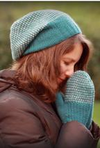 Wicker Park Slouch Hat & Mittens Set Pattern