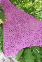 Petunia Petals Shoulder Shawl Pattern