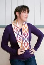 Sunset Infinity Crochet Scarf Pattern