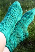 Cable Me Not Socks Pattern