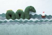 Sea Serpent Squish Pattern