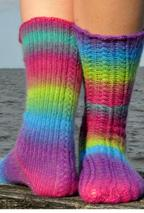 Braided Socks Pattern