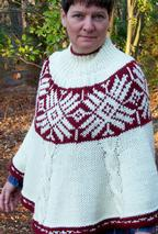 Andean Winter Poncho Pattern