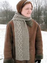 Sand and Pebbles Scarf Pattern