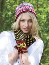 Non/Traditional Hat and Mittens Pattern Pattern