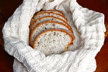 At Home Dining: Bread Basket Cloth & Warming Companion Pattern Pattern