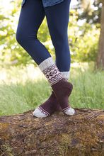 Trailside Socks Pattern Pattern