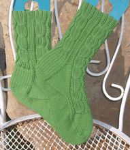 Winter Wheat Socks Pattern Pattern