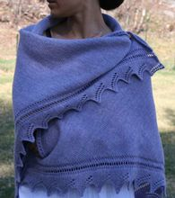 Sunrise Shawl Pattern Pattern