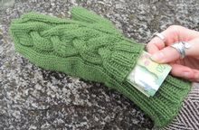 Subway Mittens Pattern Pattern