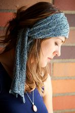 Azure - The Bohemian Headscarf Pattern Pattern