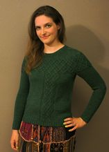 Argyle Cable Pullover Pattern Pattern