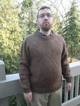 Diamond Jim Sweater Pattern Pattern