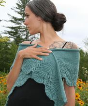 Bliss Shawl Pattern Pattern