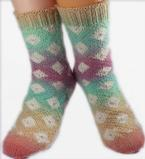 Desiree Diamond Socks Pattern