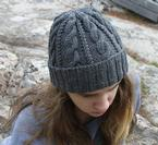 Cables & Twists Hat Pattern