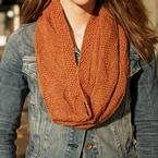 Larch Mountain Textured Chevron Cowl Pattern