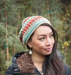 Sunset Ridge Crochet Slouch Hat Pattern