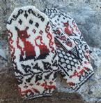 Fox Crossing Mittens Pattern
