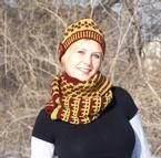 Hedgerow Jam Cowl Pattern