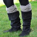 Aurora Boot Cuffs Pattern