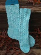 Anchors Aweigh Womens Socks Pattern